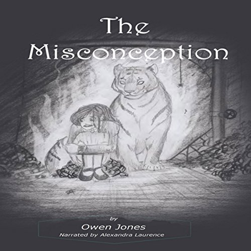 The Misconception: A Spirit Guide, A Ghost Tiger, and One Scary Mother! audiobook cover art