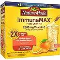 30-Count Nature Made ImmuneMAX Fizzy Immune Support Drink Mix Sticks