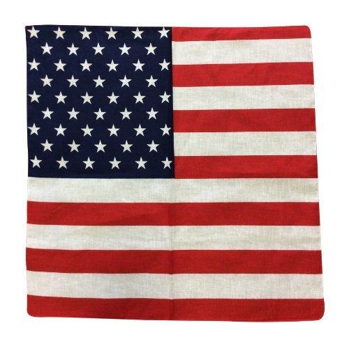 Unisexe adulte-unis pour homme motif stars and stripes drapeau bandana