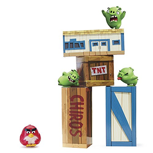 2-Feet Large 3 Pig Standees Base Life-Sized Angry Birds Vinyl Knockout Playset .HN#GG_634T6344 G134548TY66111