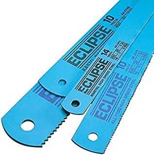 Eclipse AE45B/10 All Hard High Speed Steel Hacksaw Blade,  12 x 1/2,  18 Teeth per Inch (Pack of 10)