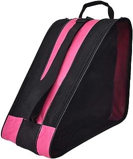 SENDILI Skate Bag - Bolsa para Patines de Hielo y Patines de Linea Respirable y Impermeable, Tela Oxford