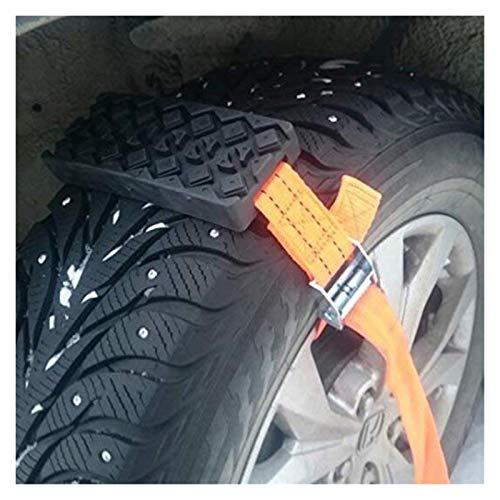 Durable Anti-Skid-Autoreifen-Traction-Blöcke mit Beuteln Notfall Schnee Schlamm Sand Reifen-Kette Straps for Schnee-Schlamm-Eis Schneeketten (Color Name : 2 PCS with 1 bag)