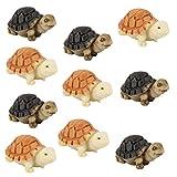 10pcs Bonsai Casa De Muñecas En Miniatura Jardín De Hadas Decoración Tortuga Paisaje