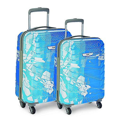 Skybags Trooper Polycarbonate Hardsided Luggage Set of 2 Small &...