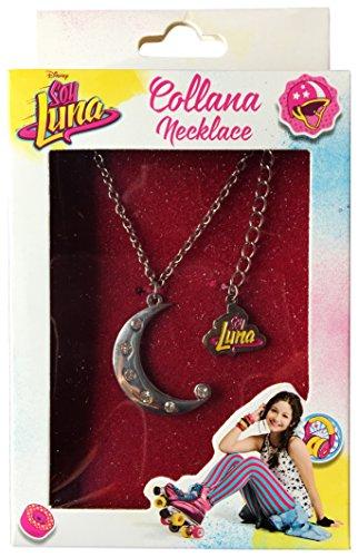 Memory Technology ED80151 – Collar de Soy Luna con Colgante en Forma de Luna con Brillantes