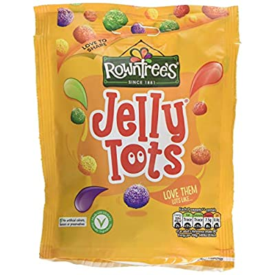 rowntrees jelly tots sweets sharing pouch, 150 g - pack of 10 Rowntrees Jelly Tots Sweets Sharing Pouch, 150 g – Pack of 10 51 EtJN L6L