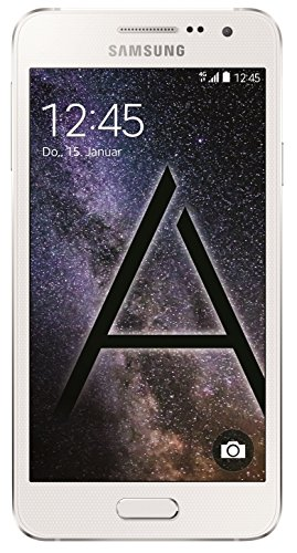 Samsung Galaxy A3 Smartphone (4,5 Zoll (11,4 cm) Touch-Display, 16 GB Speicher, Android 4.4) pearl white