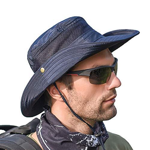 SIYWINA Hombres Sombrero de Pescador Verano Protección UV Sombreros de al Aire...