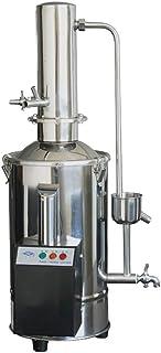 CGOLDENWALL Machine à Distiller Eau Pur Électrique Auto-Contrôle 5L/10L/20L Unique/Double Distillation Chauffage/Filtre Ut...