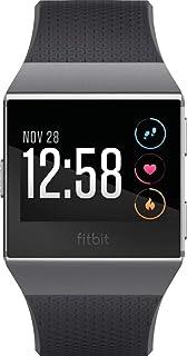 F_Fitbit_Ionic Smartwatch (SおよびLサイズバンド付属) ワンサイズ チャコール/スモークグレー