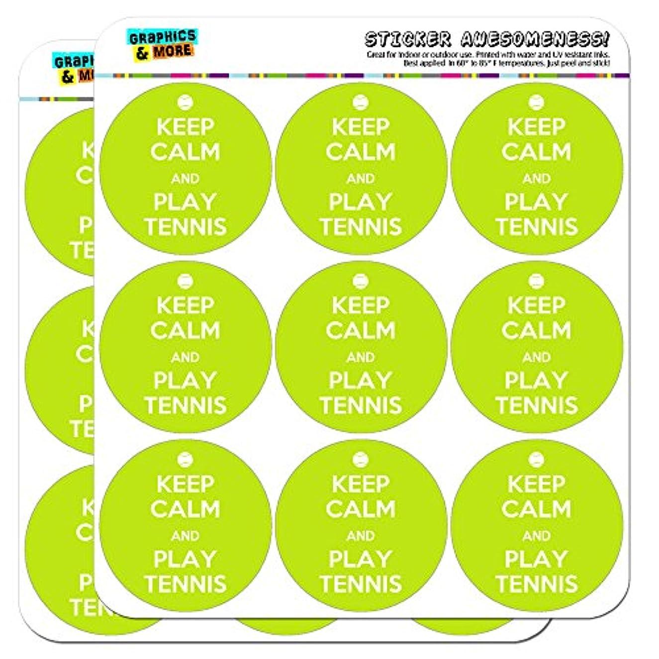 Keep Calm And Play Tennis Sports 2