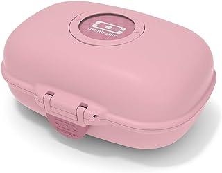 monbento - MB Gram Pink Blush Snack Box for Kids - School Snack Packing - BPA Free & Food Grade