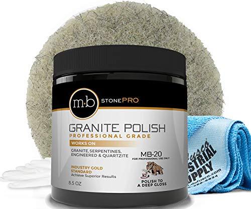 MB Stone Care Granite Polishing Compound 8.5 oz