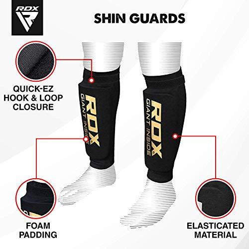 RDX MMA Schienbeinschoner Schienbeinschutz für Kampfsport Abbildung 2