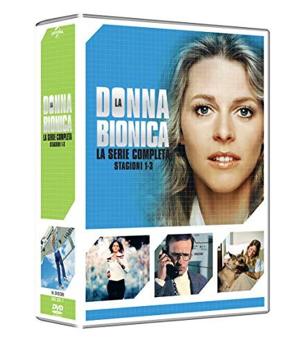 La Donna Bionica: Collezione Completa Stagioni 1-3 (Box Set) (16 DVD)