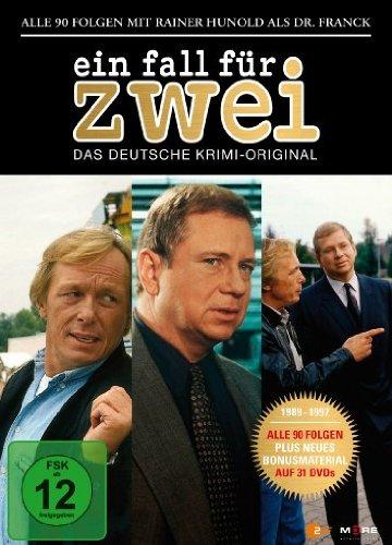 Ein Fall für Zwei - Rainer Hunold Box (31 Discs)