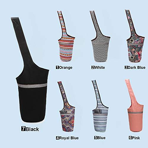 Bolsas para colchonetas de yoga Bolsas de hombro de lona Bolsillo con...