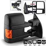 Acanii- Telescoping Power Heat LED Signal Towing Mirror For Passenger Side 2008-2016 Ford ...