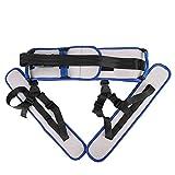 Standing Aids Gangband, Transfergürtel mit Beinschlaufen für ältere körperliche Genesung, Rehabilitation zum Trainieren und Gehen zu verhindern -