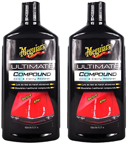 Meguiar\'s 2X MEGUIARS Ultimate Compound Autopolitur Lackpolitur Politur 450 ml