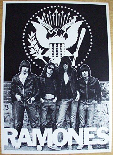 Ramones Poster Nr. 2 Format 62 x 86 cm Original von 1988