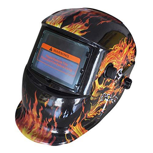 Casco de Soldadura, máscara de Soldador eléctrico de luz Variable, automático, energía...