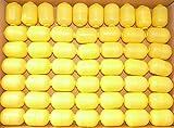 Kinder Überraschung, 50 Kapseln, gelb - zweiteilig (Ü-Eier Kapsel von Ferrero)