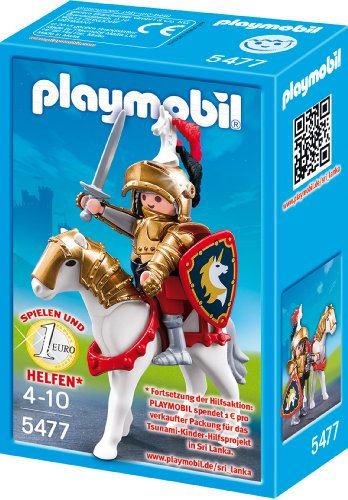 Playmobil 5477 - Goldener Ritter Christopher