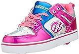 Heelys Damen Motion 2.0 He100587 Sneaker, Mehrfarbig (Pink/Silver/Aqua Pink/Silver/Aqua), 39 EU