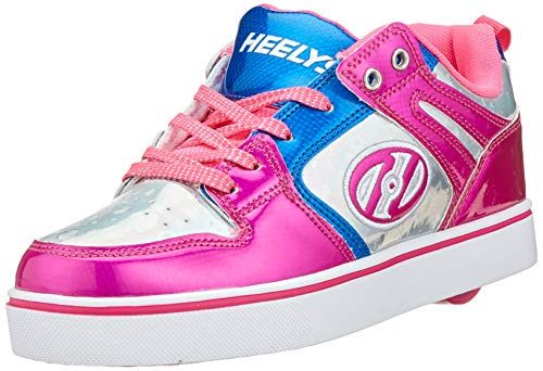 Heelys Damen Motion 2.0 He100587 Sneaker, Mehrfarbig (Pink/Silver/Aqua Pink/Silver/Aqua), 36.5 EU