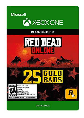 Red Dead Redemption 2: 25 Gold Bars 25 Gold Bars - [Xbox One Digital Code]