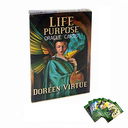 ZWC-tool Life Purpose Magic Tarot Card Oracle Cards Fate Divination Deck Games Cards, English, 44 Sheets