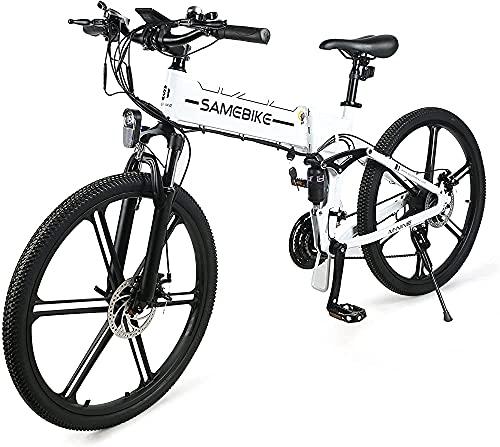 Bicicleta De Montaña De Lo26-ii De 26 Pulgadas Para Adultos, Bicicleta Eléctrica...