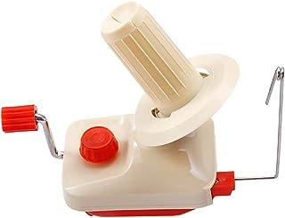 Arstore, bobinador de ovillos de lana, funciona a mano con mini herramientas de tejer para el hogar, líneas de bobinado de máquina pequeñas, firmemente para coser bufandas, suéteres, cuerdas de tela