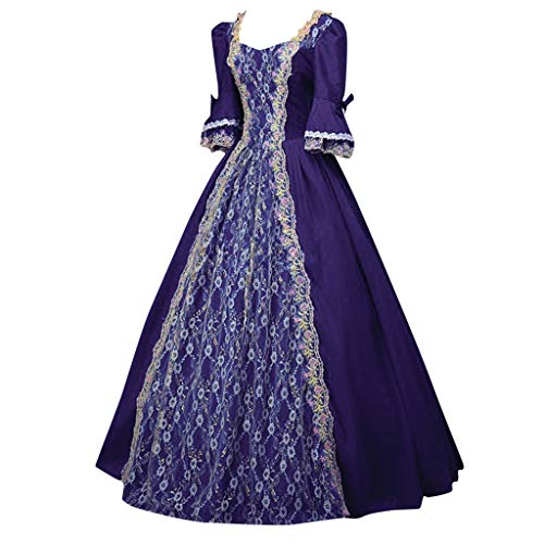 New jin&Co Ball Gowns for Women Formal Long Sleeve Renaissance Gothic Victorian Vintage Party Dres...