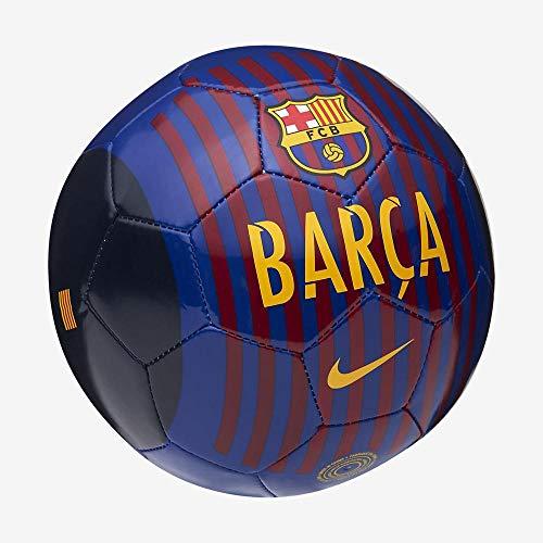 Nike FC Barcelona Skills Fußball, Deep Royal Blue/Noble Red/University Gold, 1