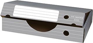 Elba 83325 Tric Lot de 10 boites de rangement pour documents Gris/blanc Format A3