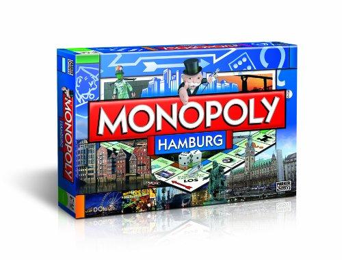 Monopoly Hamburg Stadt Edition - Das berühmte Spiel um den großen Deal!