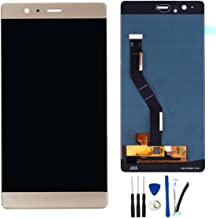 SOMEFUN LCD Display Touch Screen Digitizer Glass Assembly Replacement for Huawei P9 Plus VIE-L29 VIE-L09 VIE-AL10 (Gold)