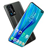 Mobile Phones Smartphone, Android 10 (Dorado/Azul/Negro) Batería Grande de 5000 mAh, desbloqueo Facial de 6.6 Pulgadas (16MP + 32MP)