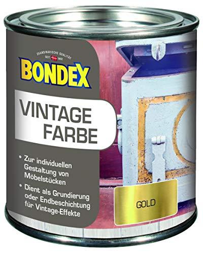 Bondex 377894 Vintage Farbe Gold 0,375 L
