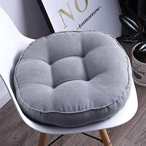 JONJUMP Cushion Round Solid Color Office Sofa Cushion Classroom Bench Cushions Chair Back Cushion for Chair