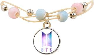Youyouchard Kpop BTS Bracelet MAP of The Soul : Persona Bracelet Wristband Beads Chain Bracelets Bangle Women Jewelry