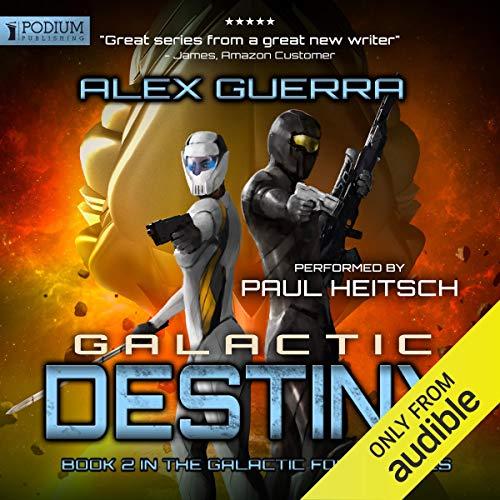 Galactic Destiny audiobook cover art