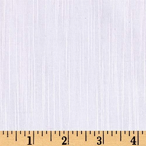 R.C. International Cotton Slub Double Gauze PDF, Yard, White