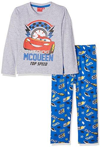 Disney Jungen 162081 Zweiteiliger Schlafanzug, Grau/Blau, 5 Jahre
