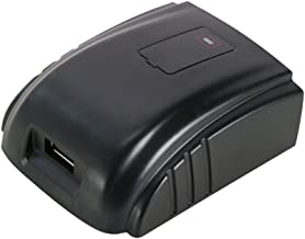 POWERAXIS USB Power Source for Milwaukee 18V M18 Lithium-Ion Battery, C18B,GD-MIL-18D