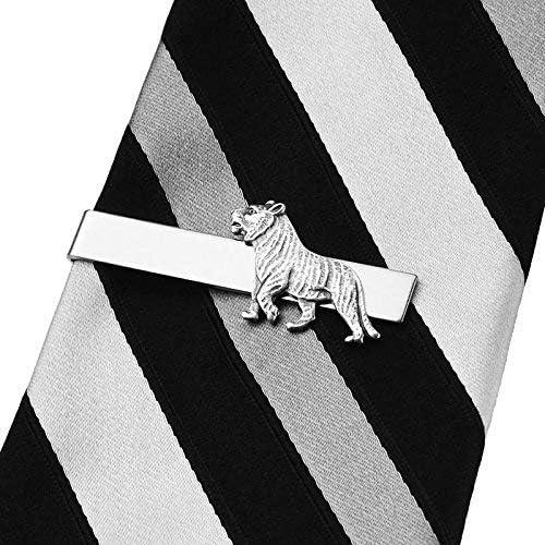 Quality Handcrafts Guaranteed Tiger Tie Clip