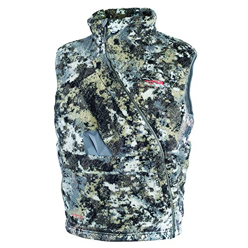 SITKA Gear Men's Quiet Insulated Hunting Fanatic Vest Optifade Elevated II XX Large